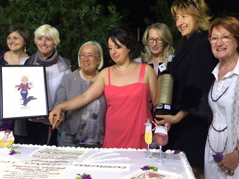Festa Distilleria Nannoni taglio della torta