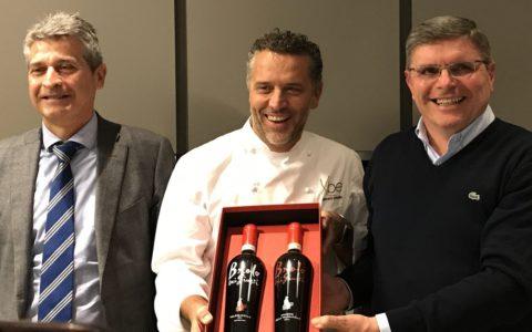 Luigi Turco,Giancarlo Perbellini e Luca Deganii