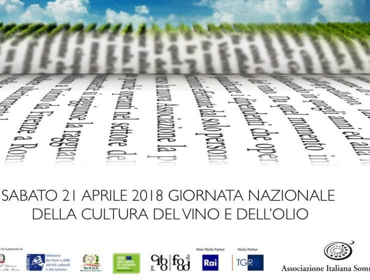 Giornata Nazionale della Cultura del Vino e dell'Olio, organizzata da AIS