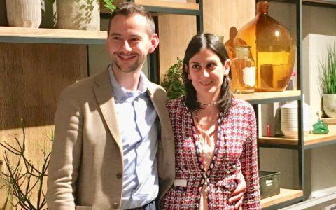 Christian Puecher e Antonella Corda