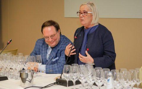 Ian D'Agata e Donatella Cinelli Colombini_VeronaFiere_FotoEnnevi
