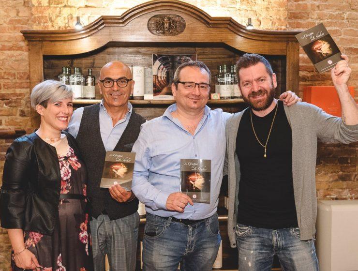 Silvia Belvedere Mazzetti, Sanzio Evangelisti, Fulvio Piccinino e Mirko Turconi