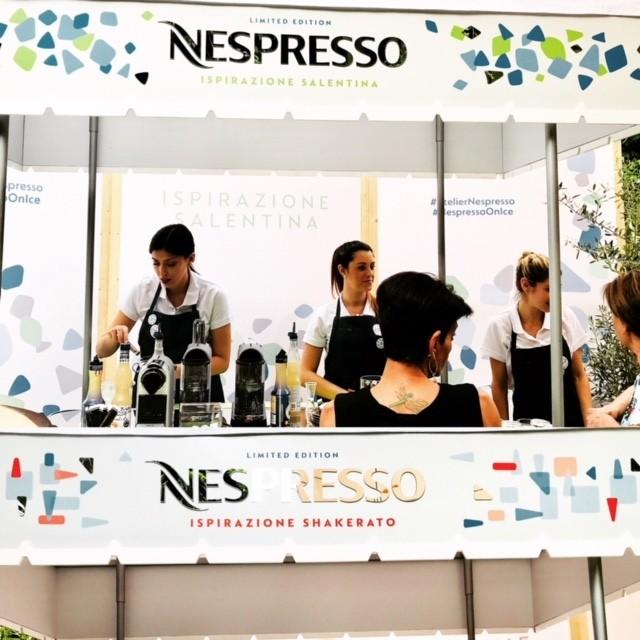 Trava la tua ispirazione firmata nespresso l 39 angolo del for Nespresso firma