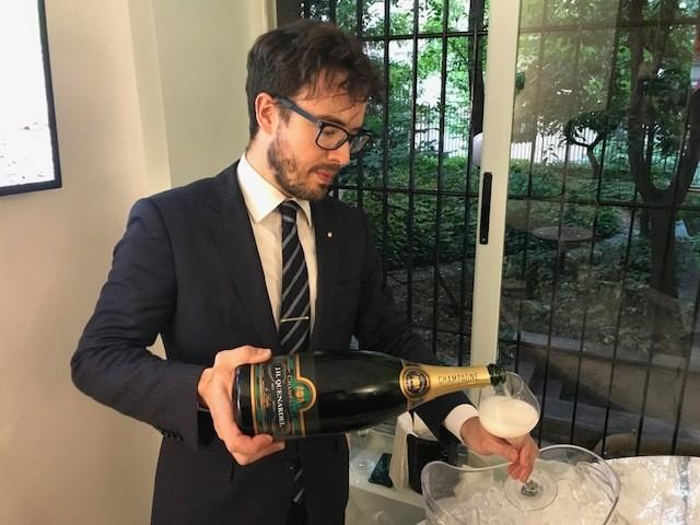 Cerdini & Quenardel – Gelato e Champagne inaugurazione