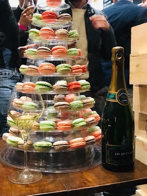 Cerdini & Quenardel – Gelato e Champagne _ macarons