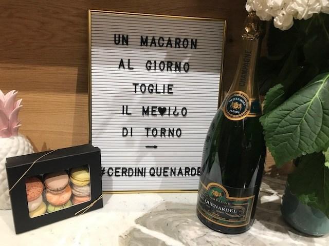 Cerdini & Quenardel – Gelato e Champagne