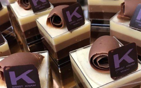 Ernst Knam Tris la famosa mousse ai tre cioccolati