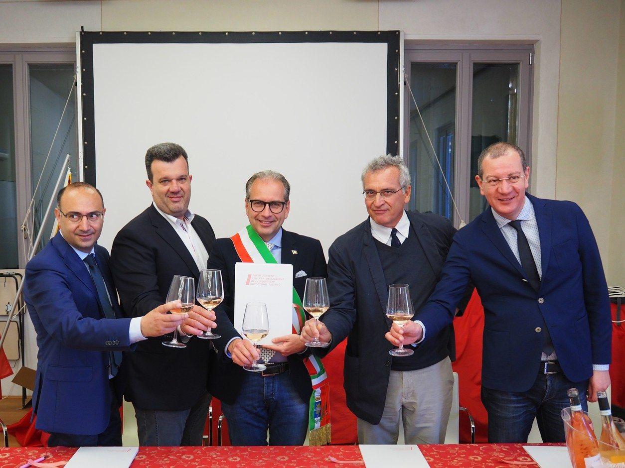 Franco Cristoforetti, Ivan de Beni, Alessandro Luzzago e Valentino Di Campli