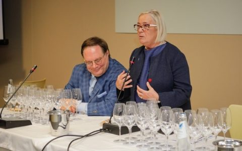 Ian D'Agata e Donatella Cinelli Colombini