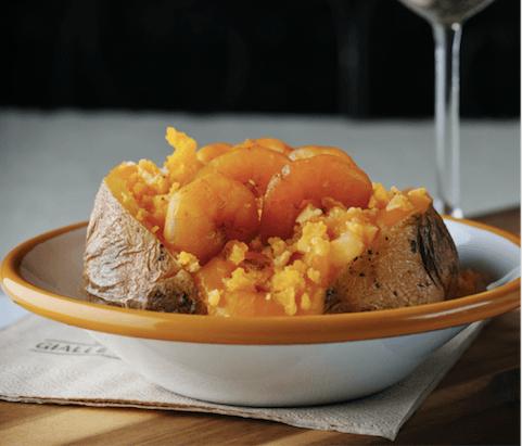 Gialle&co baked potato per l'8 marzo