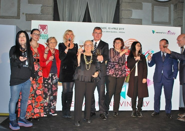 Brindisi Donne del Vino e VeronaFiere