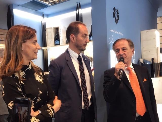 Sarah, Alberto e Armando Serena