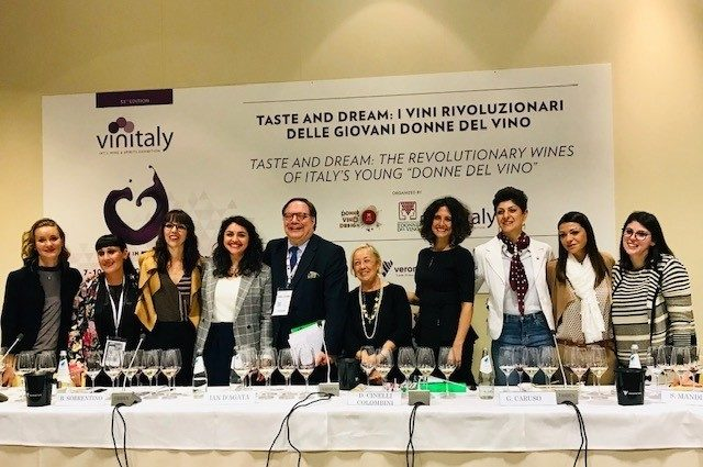 Le giovani Donne del Vino