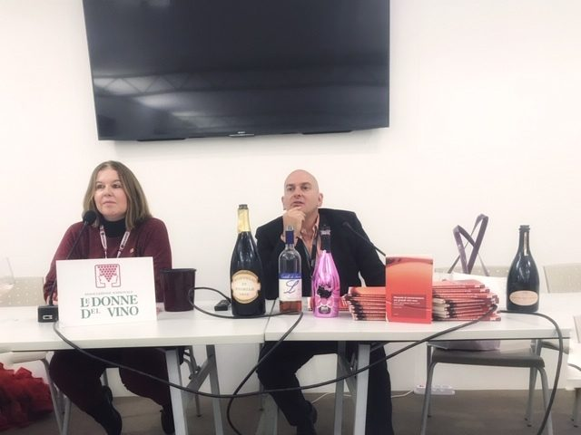 Andrea Gori e Le Donne del Vino di Lombardia