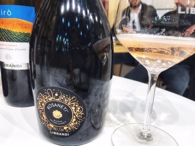 Rosaneti, Brut rosé Metodo Classico