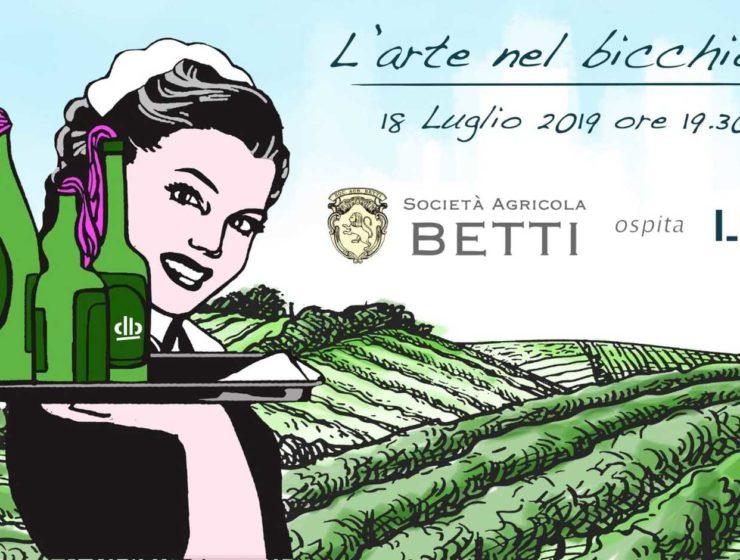 """FATTORIA BETTI ospita l'artista LDB: un incontro tra eccellenze pistoiesi all'insegna di vino ed arte Fattoria Betti, cantina con 20 ettari di vigneto ubicata a Quarrata, nella provincia di Pistoia, continua il suo percorso di profonda connessione con il mondo dell'arte, e stavolta lo fa insieme al noto stencil artist pistoiese LDB. Questo mese si profila infatti piuttosto vivace per l'azienda vinicola fondata nel 2003 e guidata dai fratelli Guido e Gherardo Betti, dato che il prossimo Giovedì 18 Luglio verrà inaugurata nella tenuta una personale di LDB: l'appuntamento è fissato alle 19.30 in cantina, quando il pubblico potrà finalmente scoprire le opere. La presentazione sarà accompagnata da un aperitivo curato dai sommelier della Delegazione Fisar Pistoia, che serviranno uno dei vini bianchi della gamma, Bianco di Toscana IGT CRETO DE' BETTI 2018, insieme alle creazioni gastronomiche dei personal Chef di """"The Dinner"""". Tutto avrò lo speciale costo di euro 15,00. LDB è nato a Pistoia e il genere di graffiti art noto come stencil art ha per lui rappresentato fin dalla sua formazione primaria - avvenuta nella città natale - la principale forma di espressione. Si tratta di una tecnica in cui i graffiti vengono realizzati attraverso uno stencil, maschera normografica da cui è diffusa la vernice spray: in questo modo è possibile riprodurre una stessa identica immagine in un illimitato numero di copie. LDB ha sempre considerato questo procedimento non solo in senso decorativo, ma come uno strumento espressivo che gli ha consentito di intervenire nella città integrandosi con gli scenari urbani ed esaltandoli. Negli ultimi anni è poi giunta la meritata consacrazione, quando la sua opera Batman.2 è stata inserita nella più importante piattaforma multi-channel mondiale del settore, """"Global Street Art"""". FATTORIA BETTI Via Boschetti e Campano, 66 - 51039 Quarrata (PT) ITALIA info@fattoriabetti.it - IG@fattoriabetti - www.fattoriabetti.it Come anticipato, per celebrare l'avvenim"""