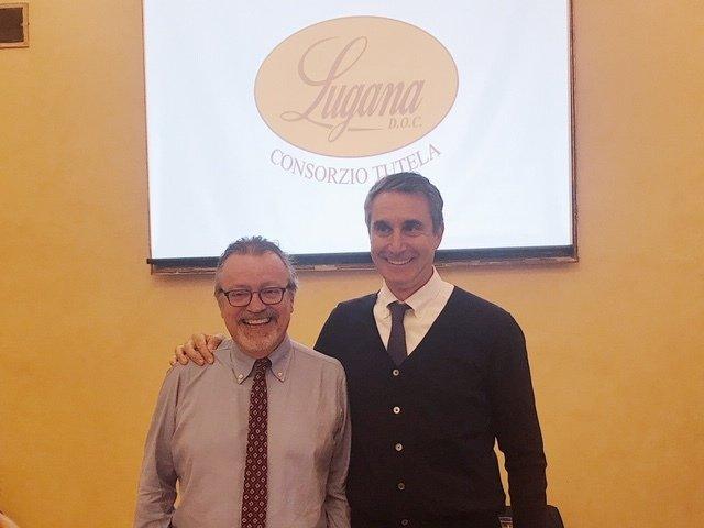 Luciano Ferraro e Ettore Nicoletto