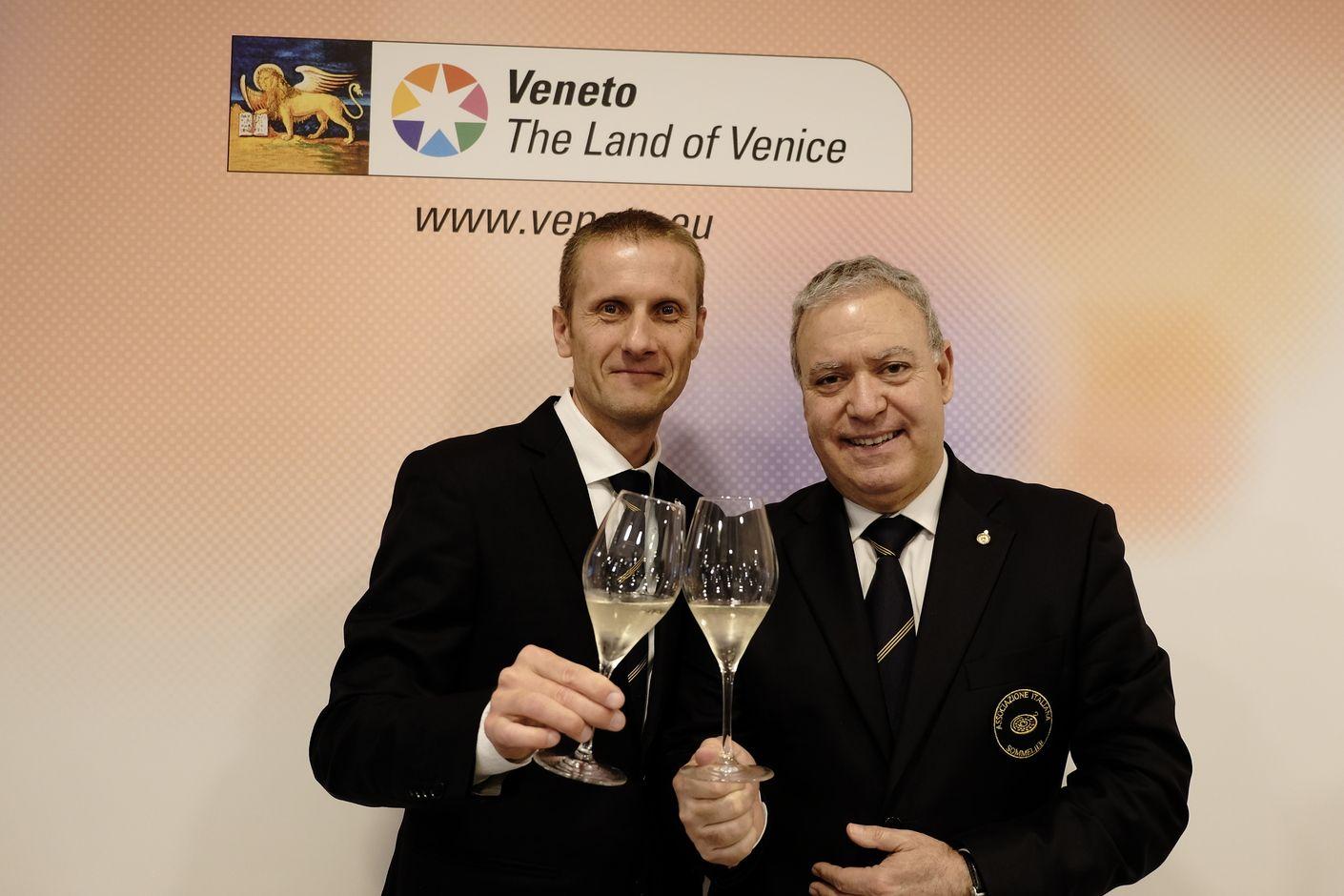 Marco Aldegheri e Antonello Maietta