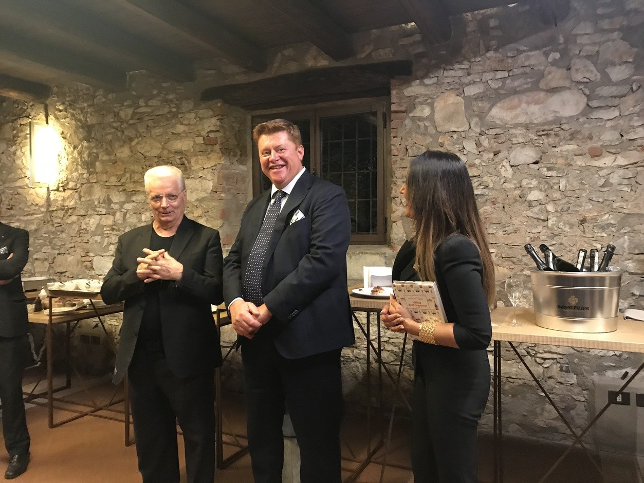 Iginio Massari, Silvano Brescianini e Francesca Negri