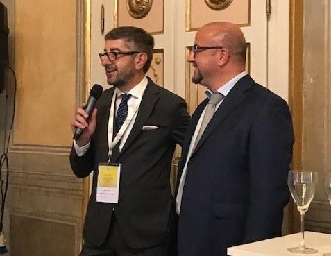 Giulio Bava e Sandro Minella