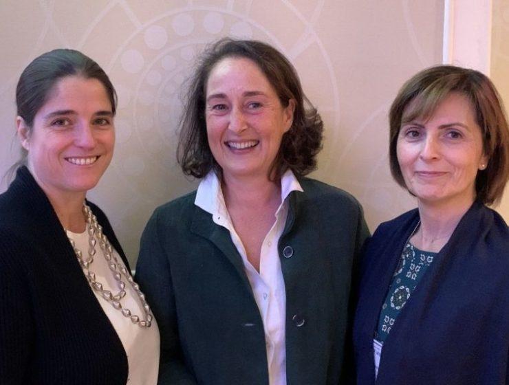 Priscilla Incisa, Albiera Antinori e Cinzia Merli alla Wine Experience di New York
